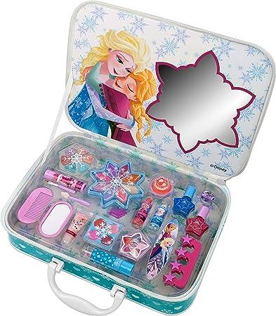 Markwins – Disney – Frozen/La reina de hielo/Juego de regalo – Maletín de maquillaje True Love (Maquillaje), 1 pieza: Amazon.es: Belleza