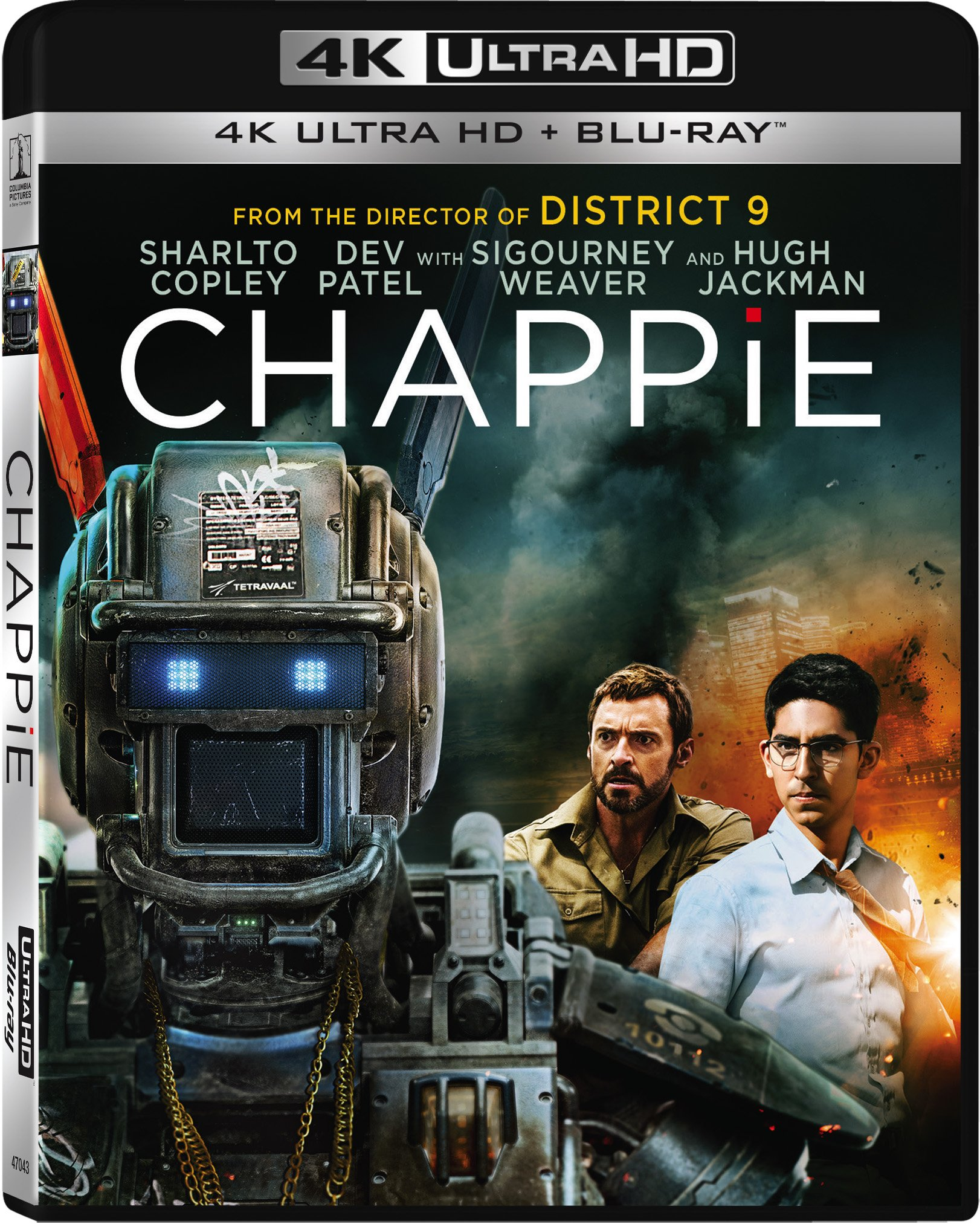 4K Blu-ray : Chappie (With Blu-Ray, Ultraviolet Digital Copy, 2 Disc)