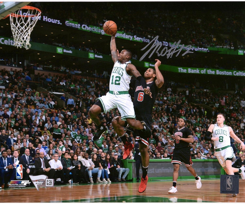 Terry Rozier Boston Celtics Autographed 8' x 10' Dunk Photograph - Fanatics Authentic Certified - Autographed NBA Photos