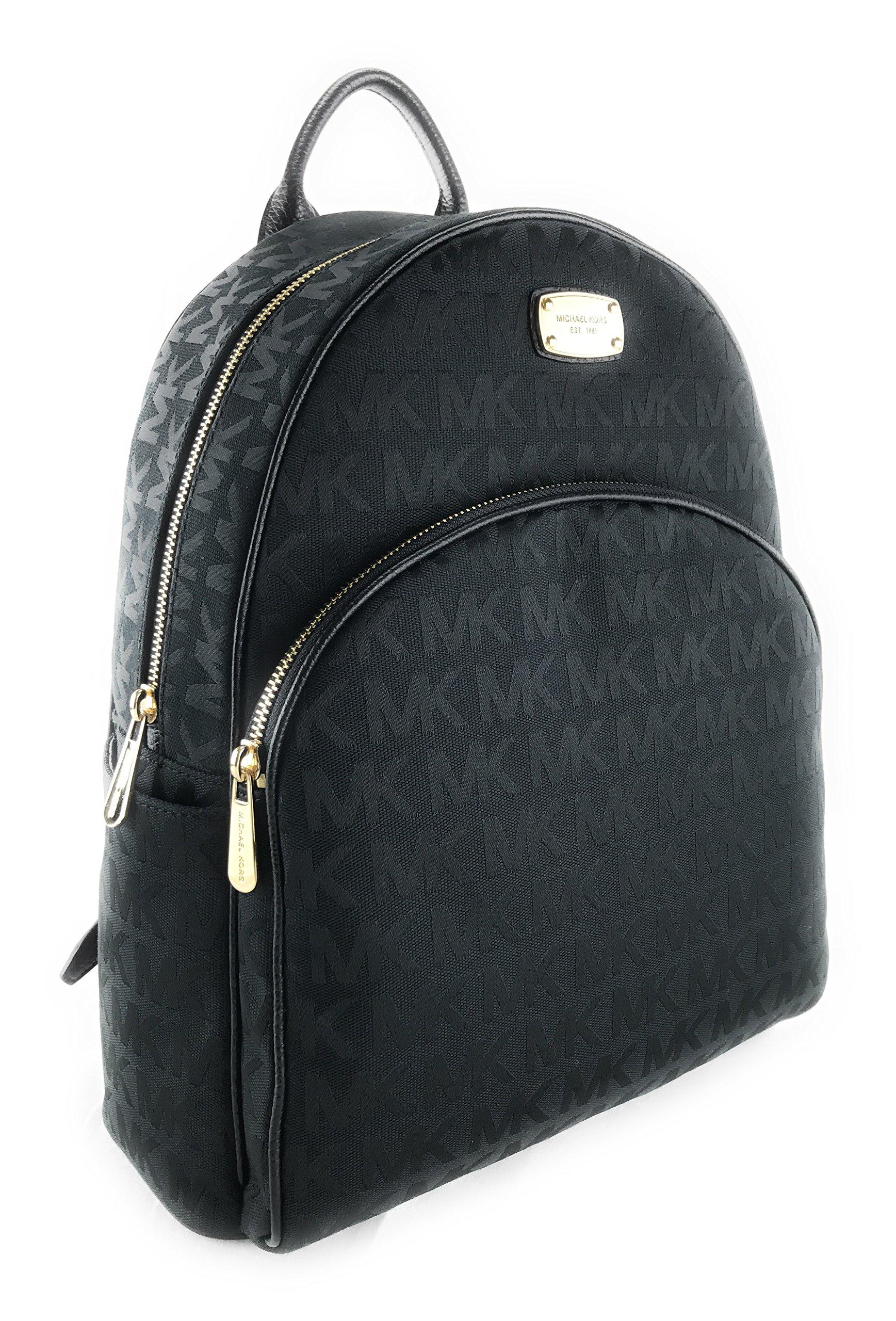 Michael Kors Abbey Large Jet Set Backpack BLK / BLK / BLK