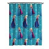 Jay Franco Disney Frozen Swirl Shower Curtain