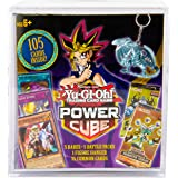 Yu-Gi-Oh! Cards Power Cube - 5 Rares | 5 Battle Decks | A Figure Hanger | Factory Sealed Packs | 75 Common Cards, (Model…