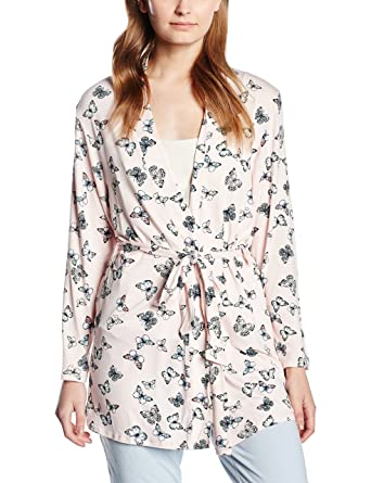 New Look Women\'s Butterfly Dressing Gown: Amazon.co.uk: Clothing
