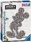 Ravensburger Rompecabezas de Silueta Marca de 945 Piezas: Mickey Puzzle