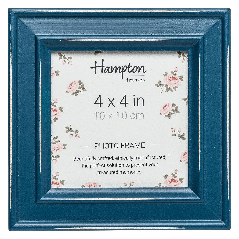 Hampton Frames Paloma Bilderrahmen, Holz,, Blaugrün, 14,5 x 14,5 x 2 ...
