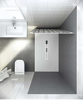 Bodengleiche duschwanne 90x120  bodengleiche Dusche 120x100 Mineralguss, bodenebene Dusche 100x120 ...