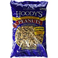 Hoody's In-Shell Classic Roast Peanuts Unsalted 5 Pounds, 2 Pack