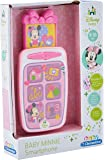Mickey Mouse – Smartphone éducatif de Mickey, Jouets Interactifs (Clementoni 65506.9) Design Minnie rose
