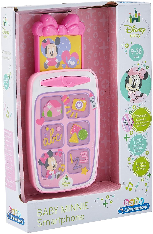 Minnie Mouse - Smartphone educativo de Minnie, juguetes interactivos (Clementoni 14898), Importado de Italia: Amazon.es: Juguetes y juegos