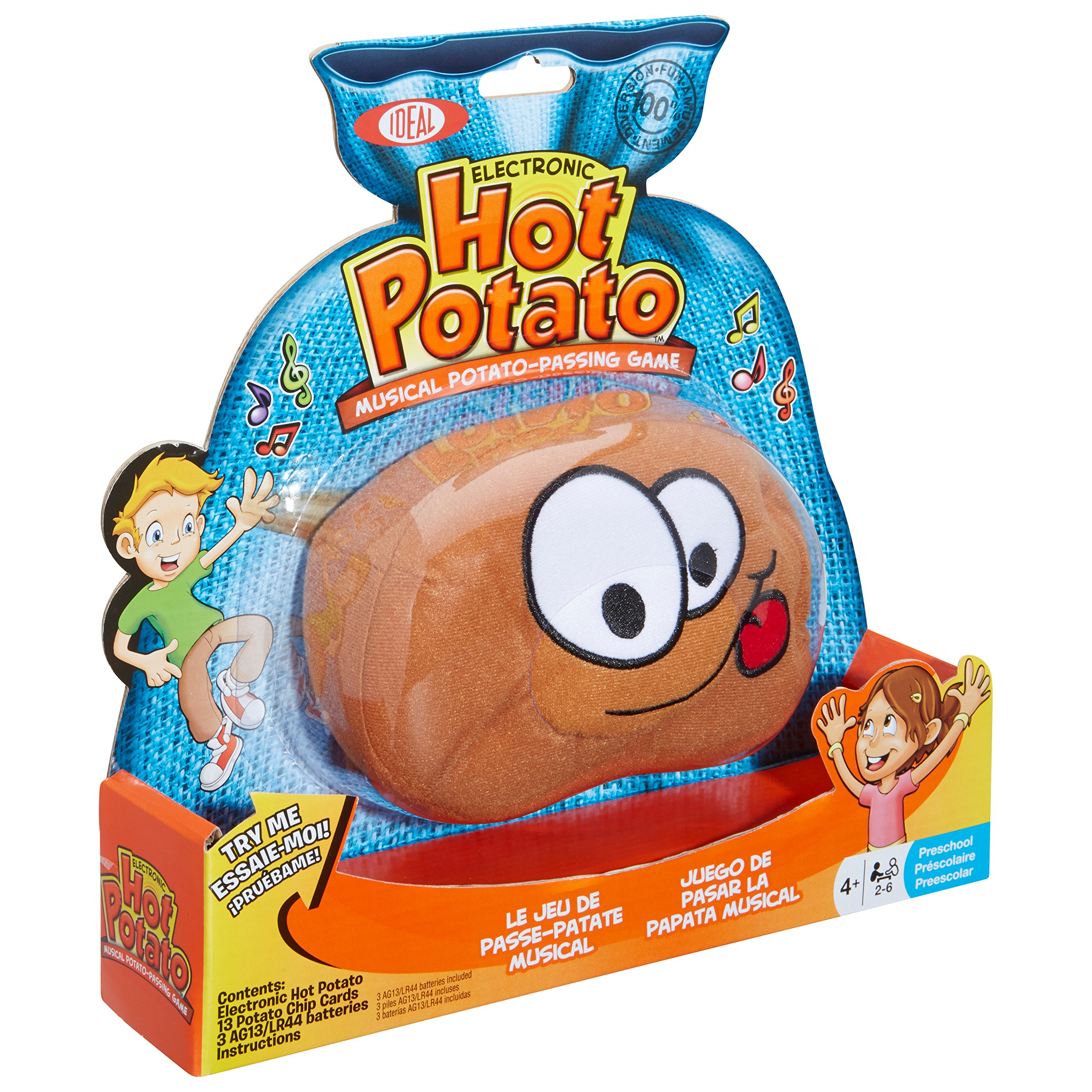 Ideal Hot Potato Electronic Musical Passing Game Toys Wiring Games