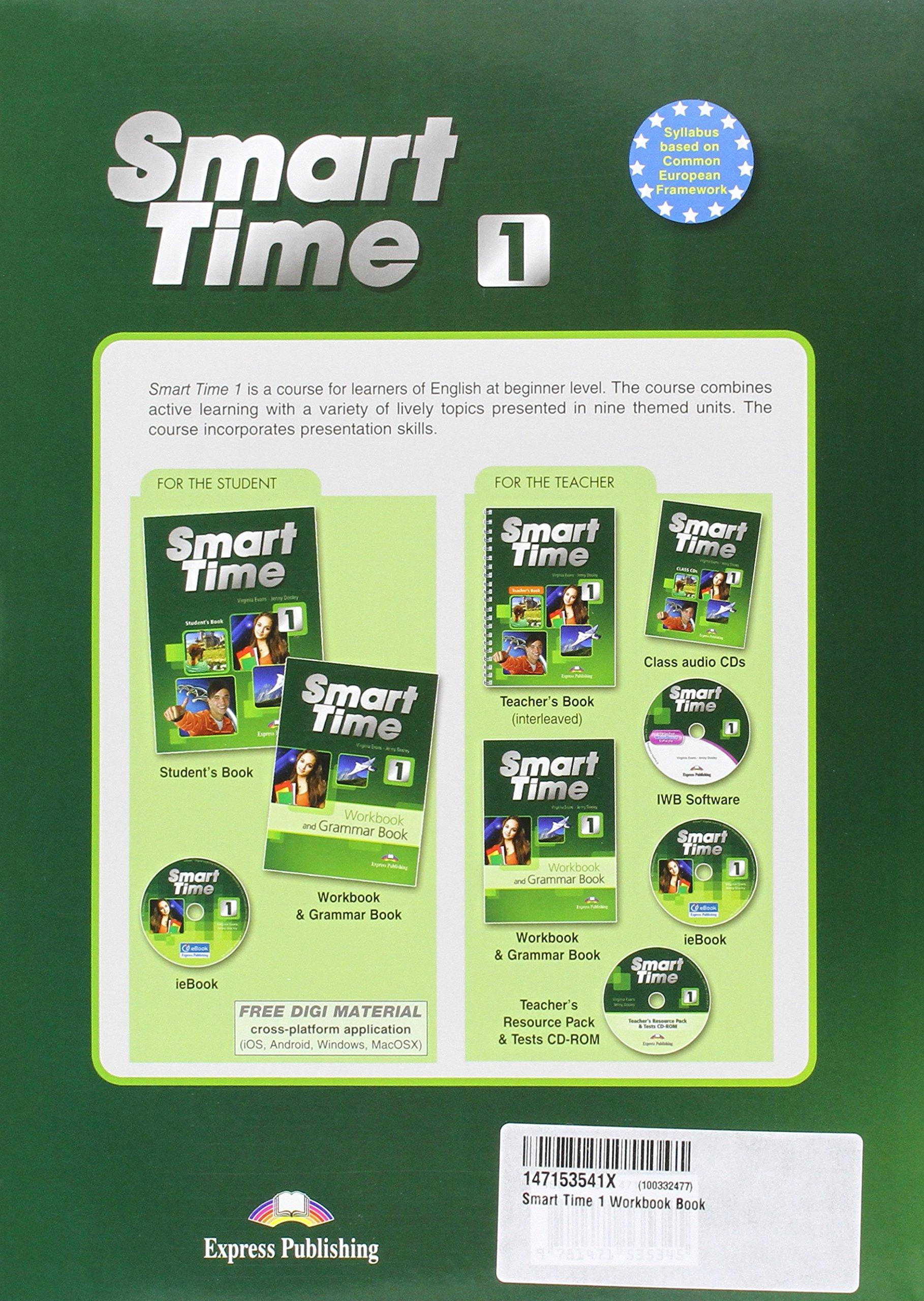 Smart Time 1 Workbook Book: Amazon.es: Express Publishing (obra colectiva): Libros en idiomas extranjeros