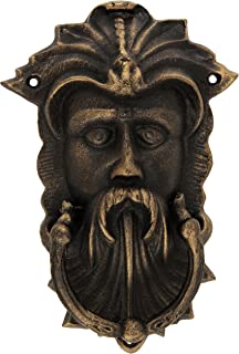 Design Toscano Sutherland House Greenman Authentic Foundry Door Knocker