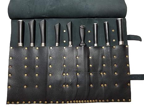 Amazon.com: Professione KB011 - Bolso de piel para cuchillos ...