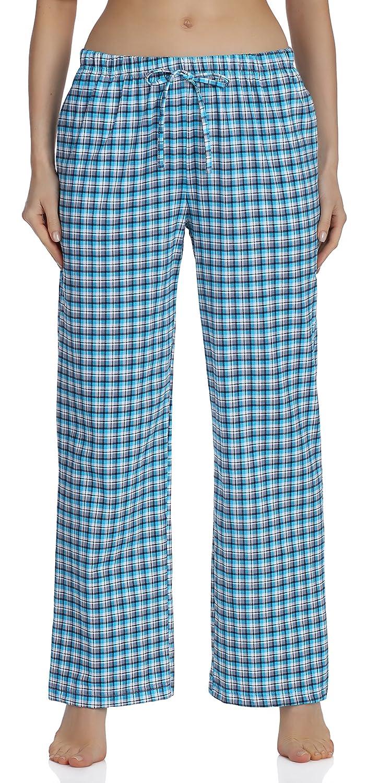 ab3c999f0 Aibou Unisexe Bas de Pyjama Femme 100% Coton Vêtements de Nuit à ...