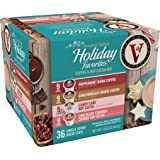Victor Allen Coffee Holiday Favorites Coffee & Cocoa Mix, 36 Count (Compatible with 2.0 Keurig Brewers)