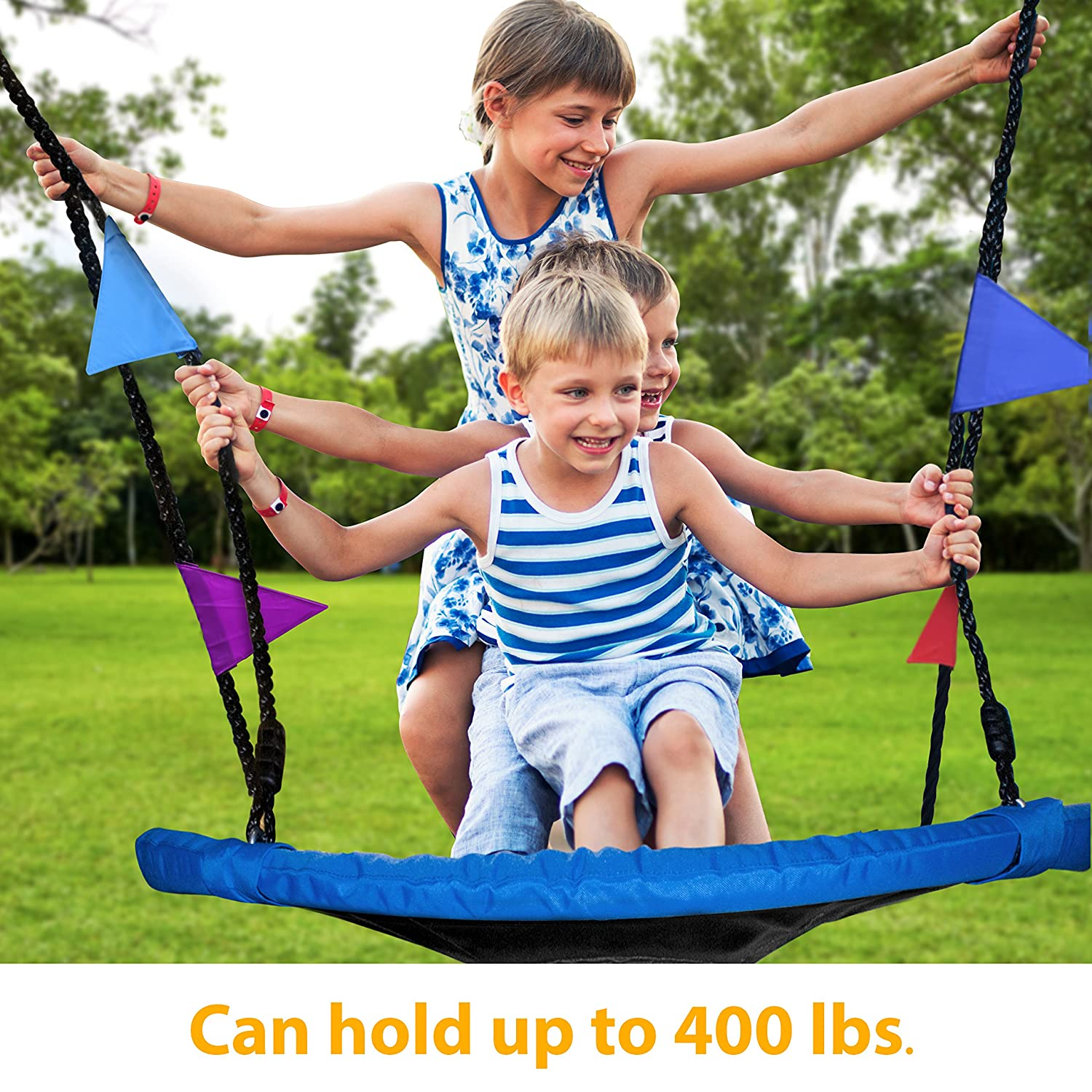 Giant 40-Inch Saucer Swing