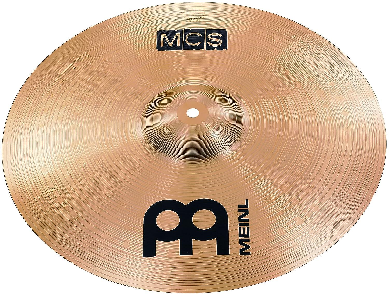 Meinl Cymbals MCS16MC MCS Serie 40, 64 cm (16 Zoll) Crash Becken