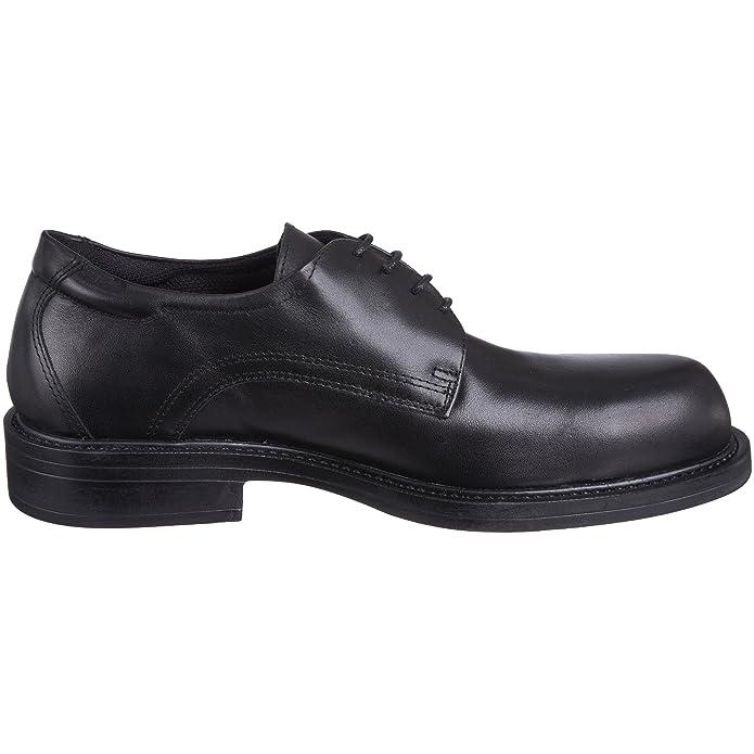 Magnum 54307/069 - Calzado de protección de cuero, unisex, negro (Black leather), 43 EU