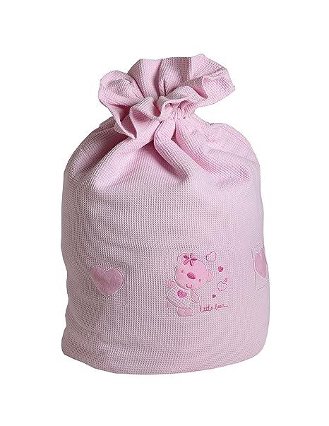 Baby Elegance Star Ted - Bolsa para ropa sucia, color rosa: Amazon ...