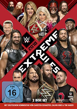 Amazon com: Extreme Rules 2018, 2 DVDs: Movies & TV
