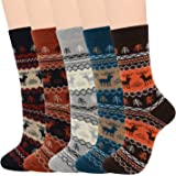 Zando Mens Wool Socks Athletic Socks Soft Warm Socks Thick Fall Winter Socks Crew Socks Merino Wool Socks for Men