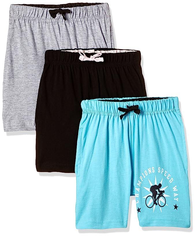 Cloth Theory Boys' Shorts (Pack of 3) Shorts & Dungarees at amazon