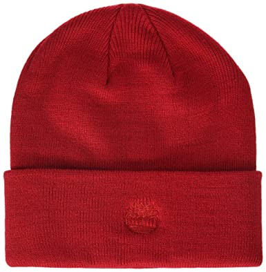 0f55ebf70ed Timberland Men s Cuffed Beanie with Embroidered Logo Hat