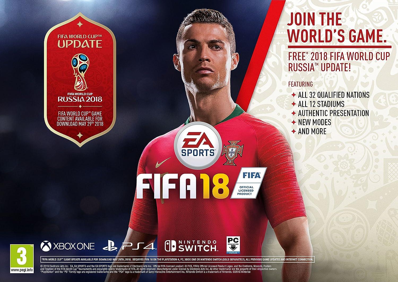 32db13ddf FIFA 18 (Xbox One)  Amazon.co.uk  PC   Video Games