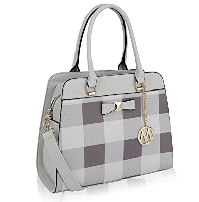 3f7e640238ab MKF Collection Bridget Plaid Shoulder Bag by Mia K Farrow