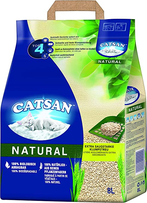 Catsan Natural - Arena para Gatos Biodegradable - Neutralización ...