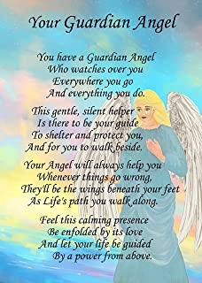 Angel of hope poem verse greeting card 8x6 mix match on 8x6 cards guardian angel poem verse greeting card 8x6 mix match on 8x6 cards any m4hsunfo