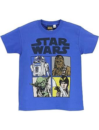 Star Wars - Camiseta para niño La guerra de las Galaxias: Amazon.es: Ropa y accesorios