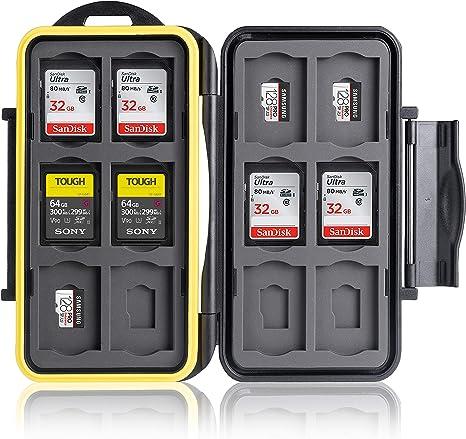 Ares Foto® Caja de protección • Almacenamiento de tarjeta de ...