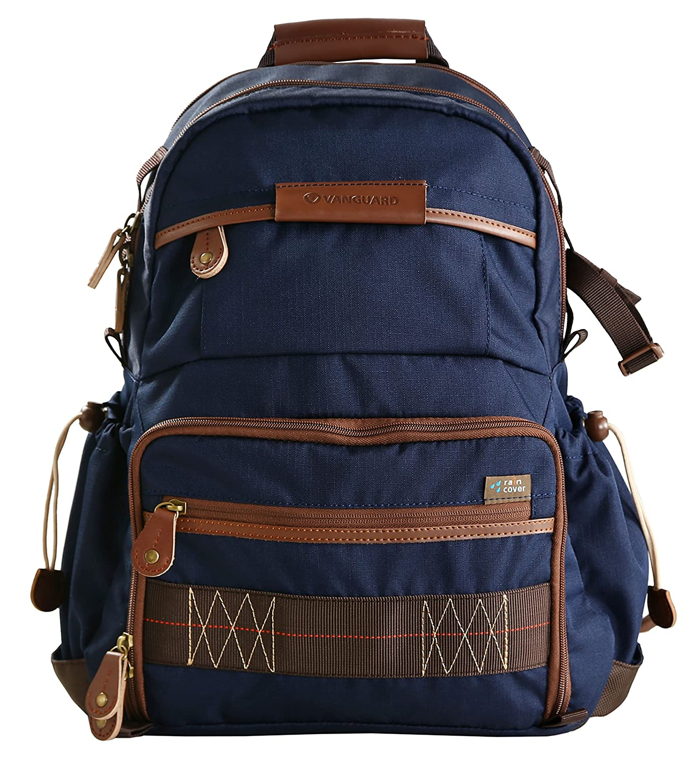 Vanguard Havana 41 Backpack (Blue) for Sony, Nikon, Canon, Fujifilm Mirrorless, Compact System Camera (CSC), DSLR, Travel