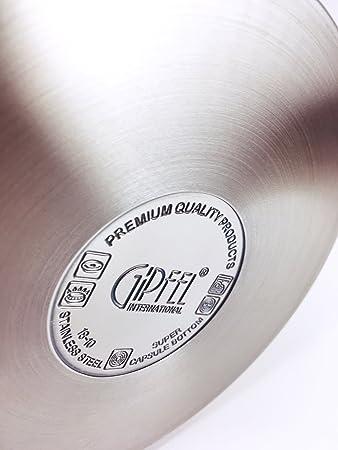 6 pcs Cookware Set 1,25l 3,5l 7l Stainless Steel induction