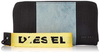 fe3406163e40 (ディーゼル) DIESEL メンズ 財布 ジップ付き 長財布 X06119P2195 UNI ブラック×グレー H7064