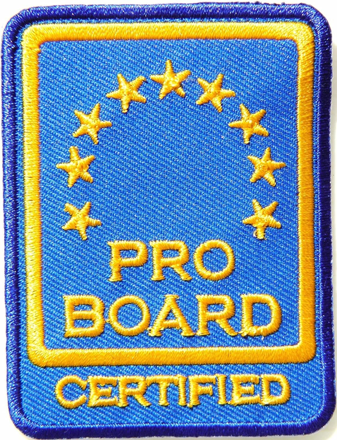 Amazon Pro Board Certified Proboard Fire Service Badge Sign