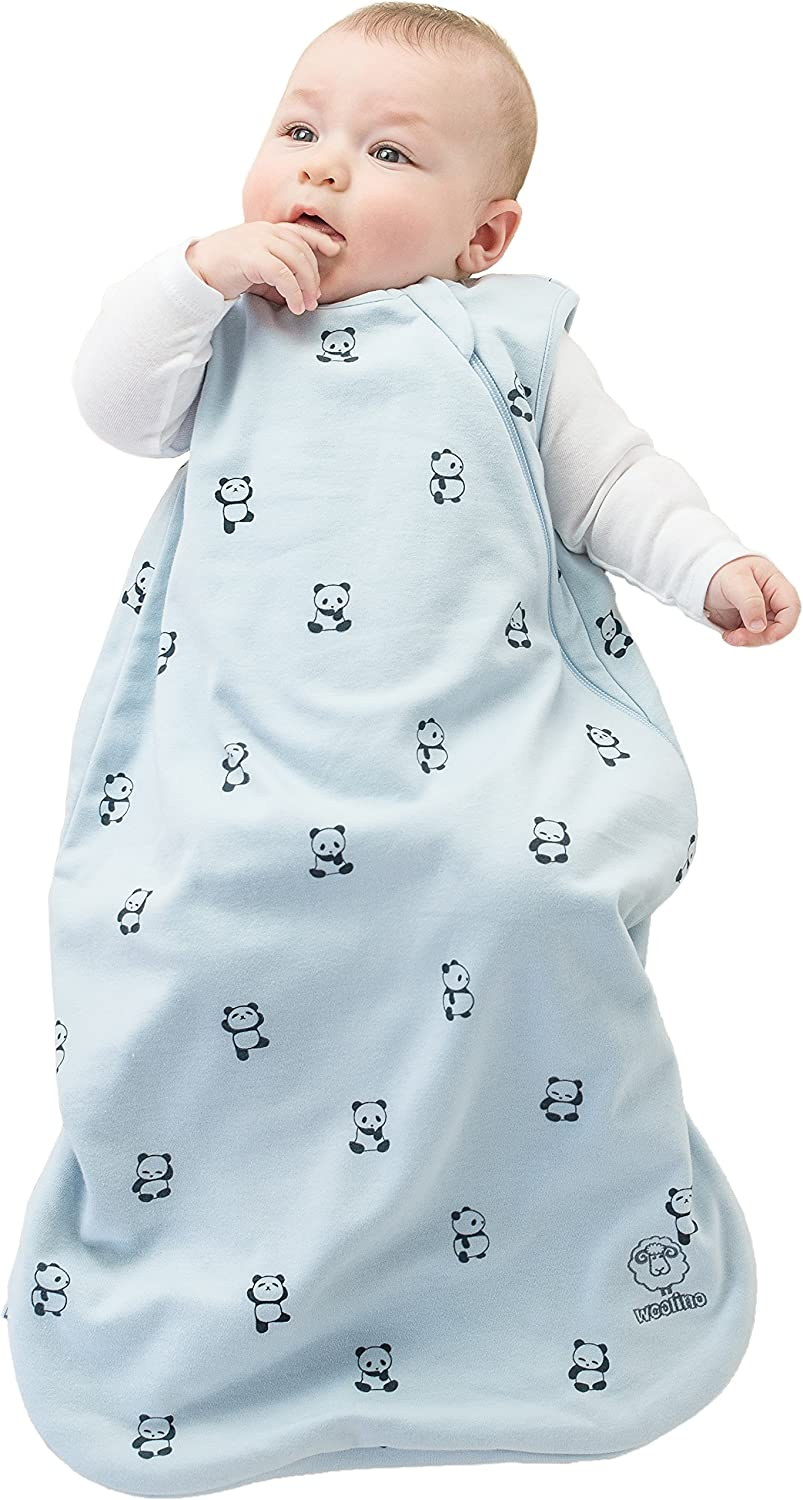 Woolino 4 Season Basic Baby Sleeping Bag 6-18 Mo Crowns