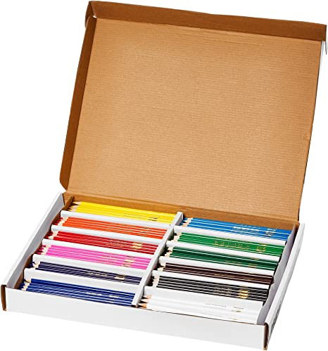 SCHOOL SUPPLIES Prang Colored Pencils 24 or 36 Color Sets 3.3mm Leads Non-toxic