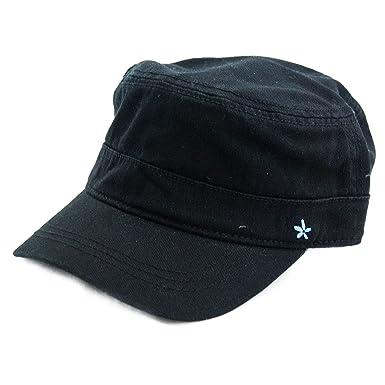 5c6185399b9a3 Kooringal Ladies Mao Cap (Black) at Amazon Women s Clothing store