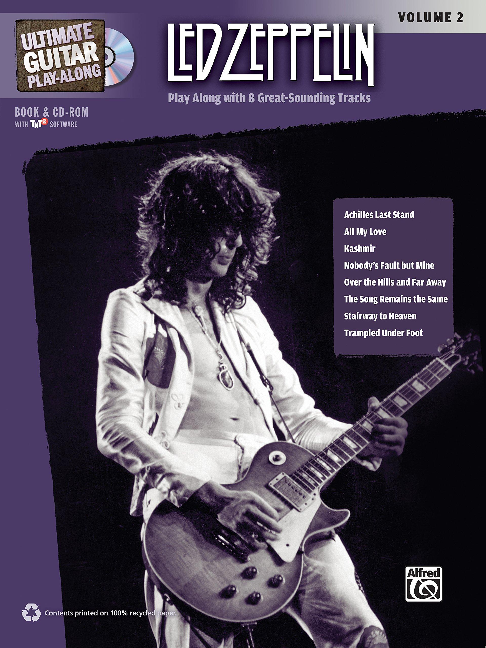 Amazon Ultimate Guitar Play Along Led Zeppelin Vol 2