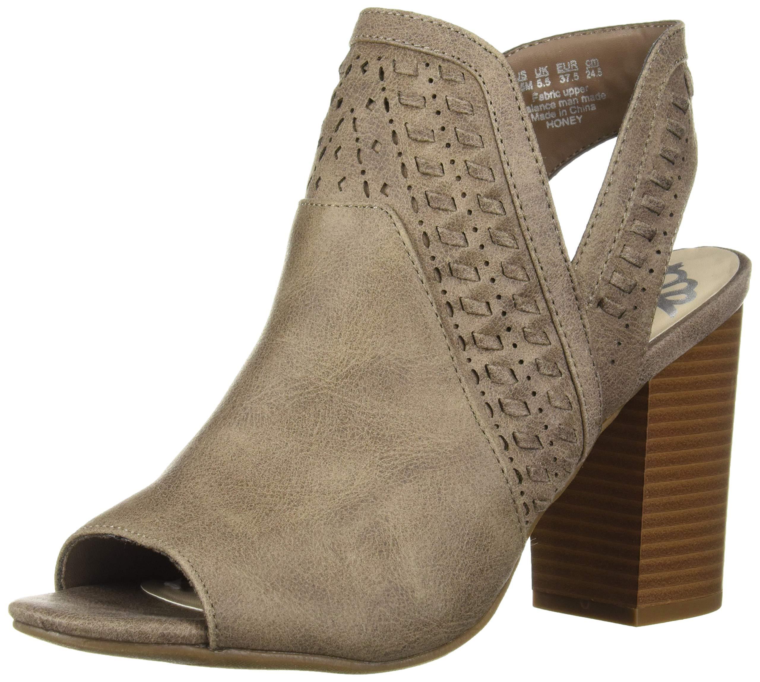 Fergalicious Women's Honey Heeled Sandal, DOE, 8 M US by Fergalicious