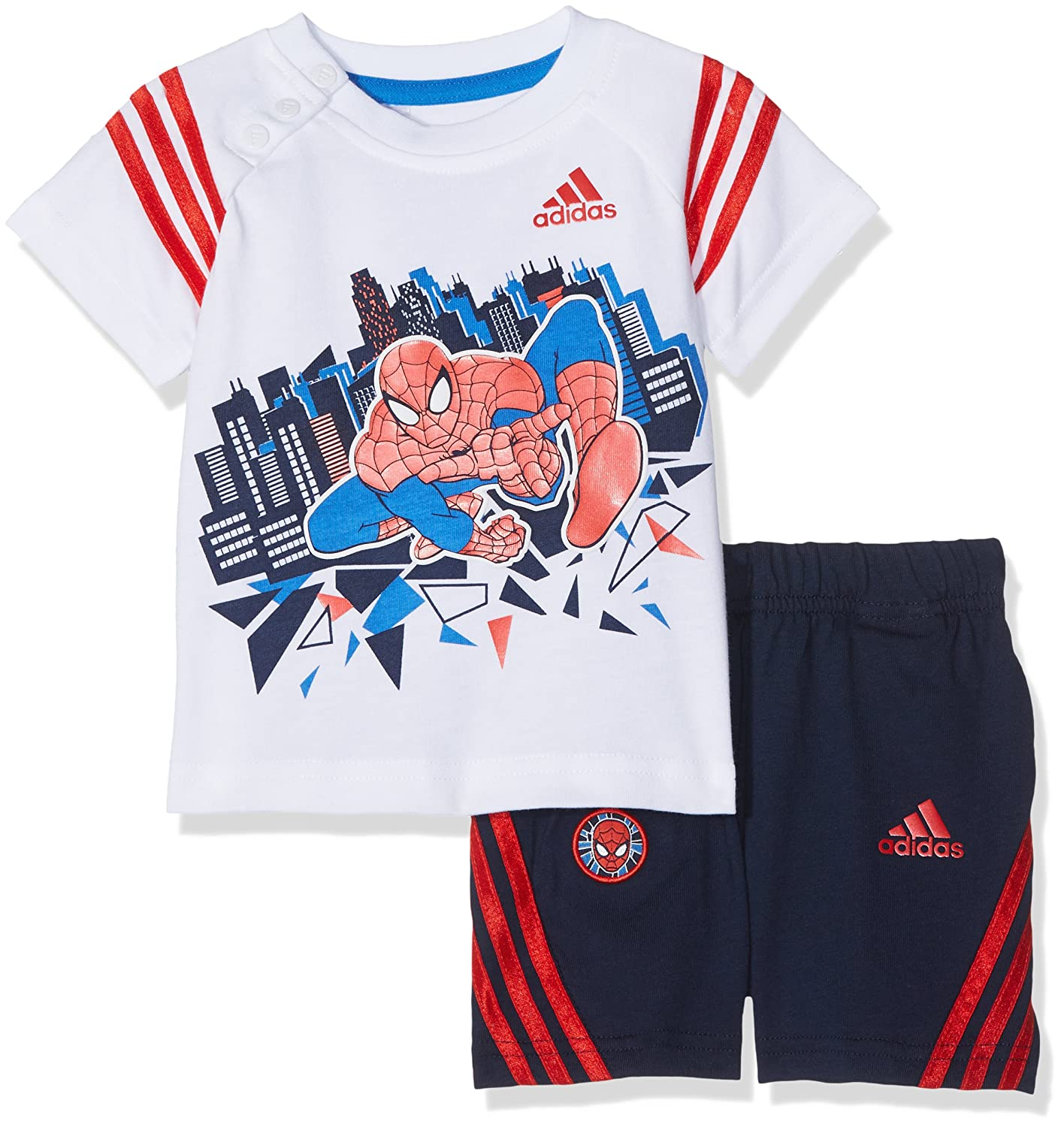 adidas Jungen Spider-Man Set Kleinkinder Trainingskombinationen S22053