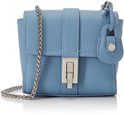 Trussardi Jeans Suzanne Ecoleather Smooth Mini Bag b7610ff55da1d