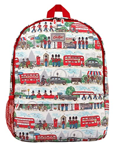 Cath Kidston New Kids London Streets Large Backpack In Ivory Amazon