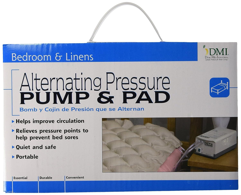 Amazon.com: DMI Alternating Pressure Pad, Alternating Pressure Mattress Pad  with Pump, Twin Size, Tan: Health & Personal Care - Amazon.com: DMI Alternating Pressure Pad, Alternating Pressure