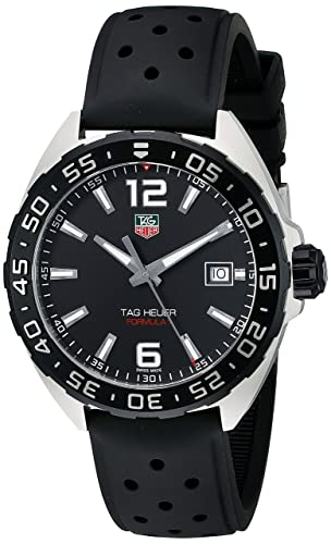 TAG Heuer Men s WAZ1110.FT8023 Formula 1 Stainless Steel Watch with Black Band