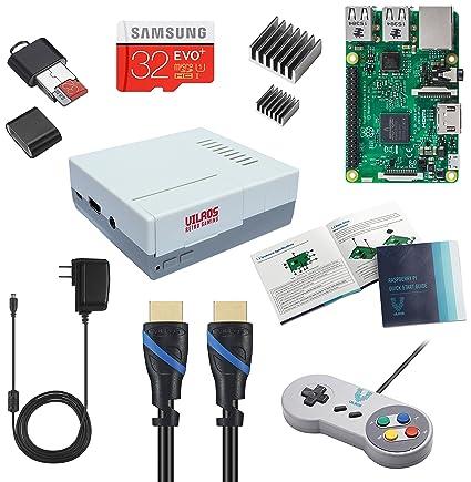 Vilros Raspberry Pi 3 RetroPie Arcade Gaming Kit with Classic USB Gamepad  (Retro-X1)