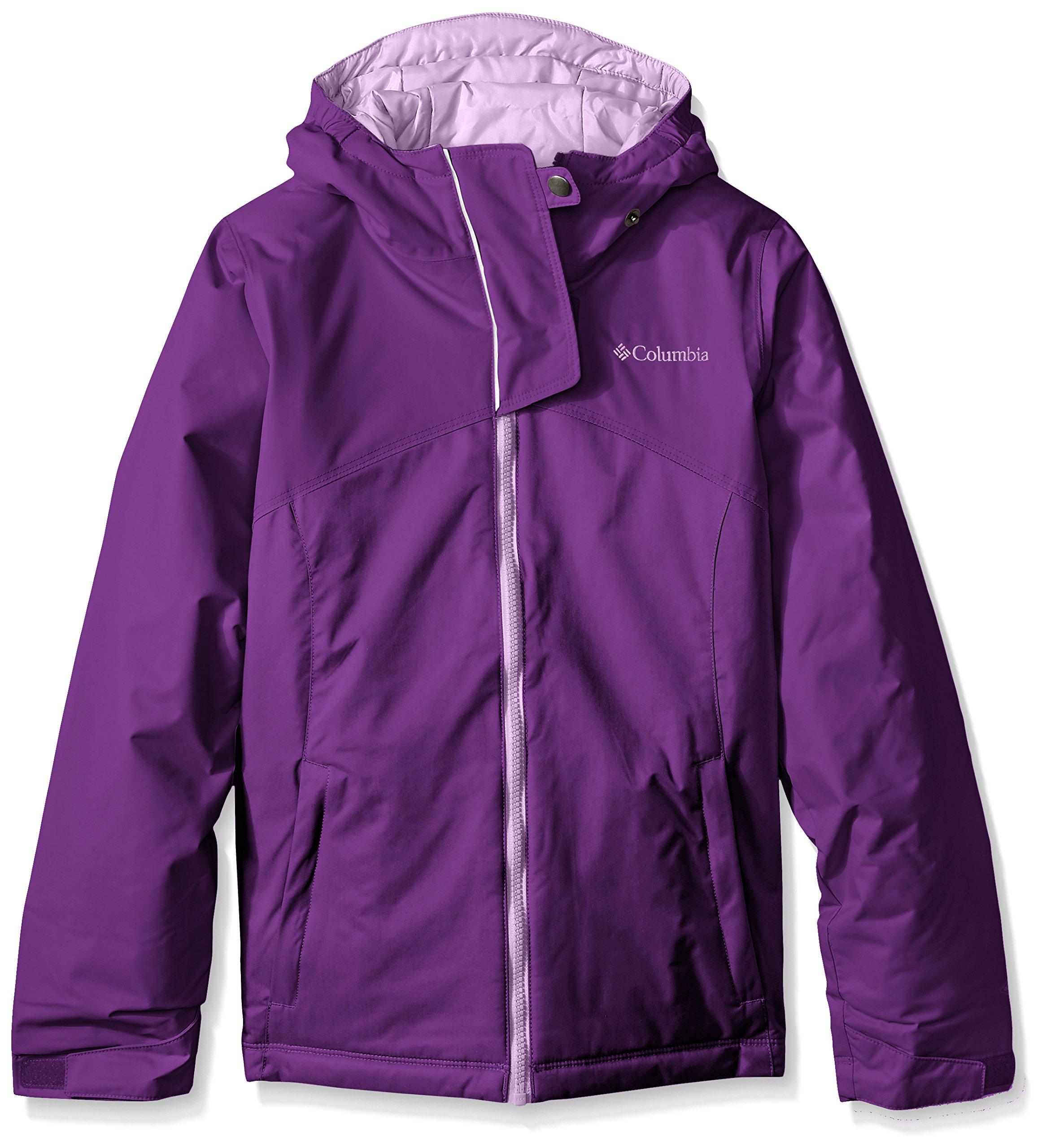 Columbia Girls Crash Course Jacket, Medium, Iris Glow