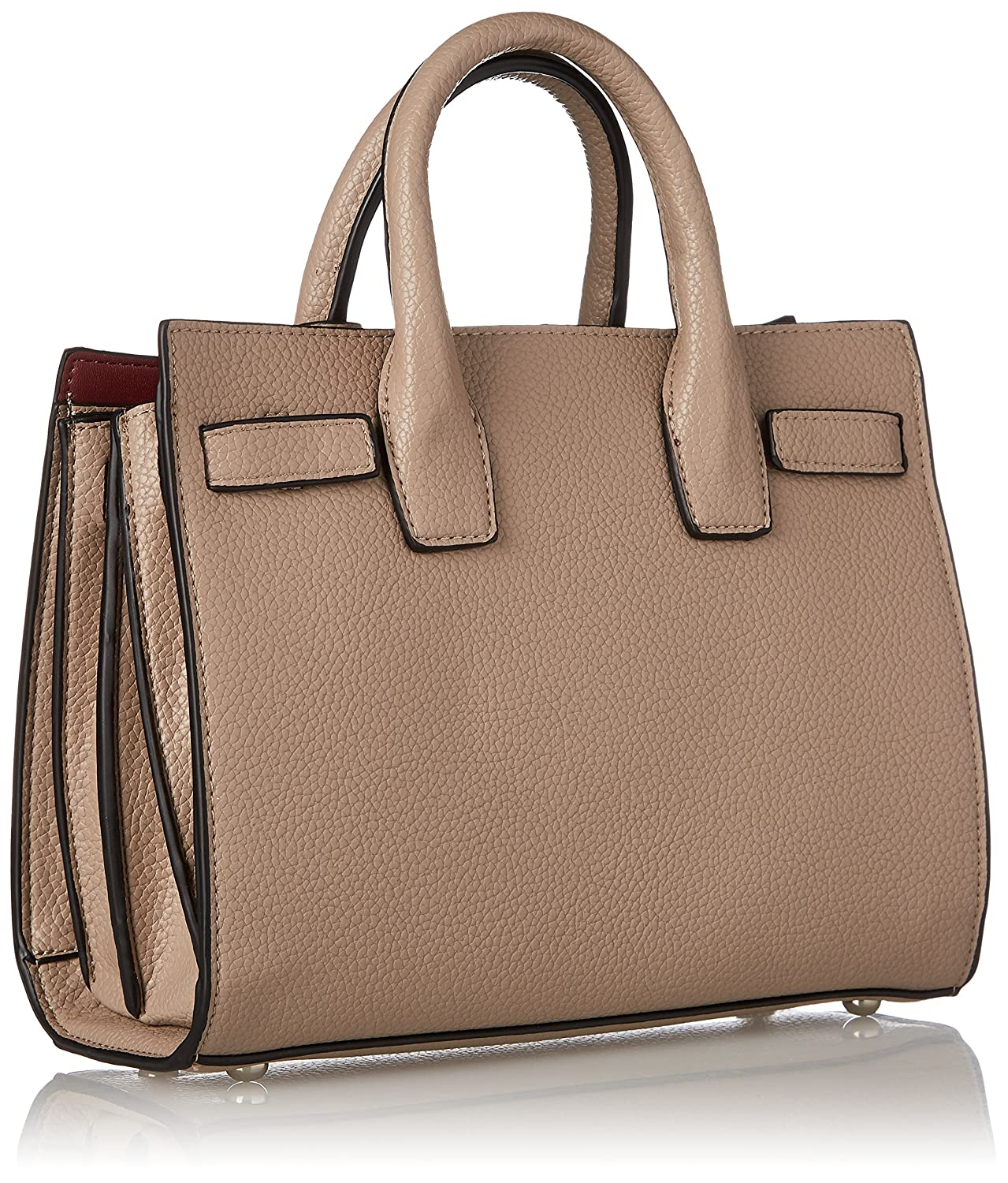 Bag Cogollos, Womens Top-Handle Bag, Beige (Taupe), 12x21x26 cm (W x H L) Silvian Heach